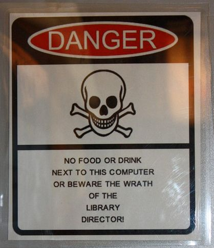 Passive Aggressive Library Signs: Beware the Wrath of the Library Director!