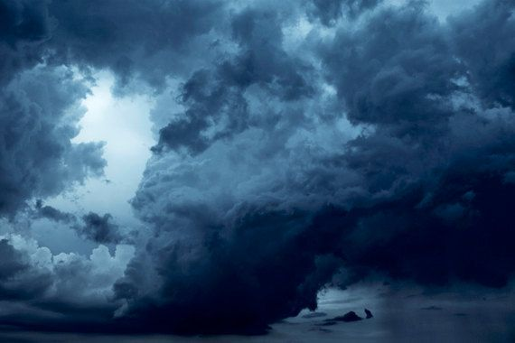 Dark Clouds photograph Digital Download Fine Art Photography tempest storm clouds image storm photo sky picture thunder clouds rain wall art