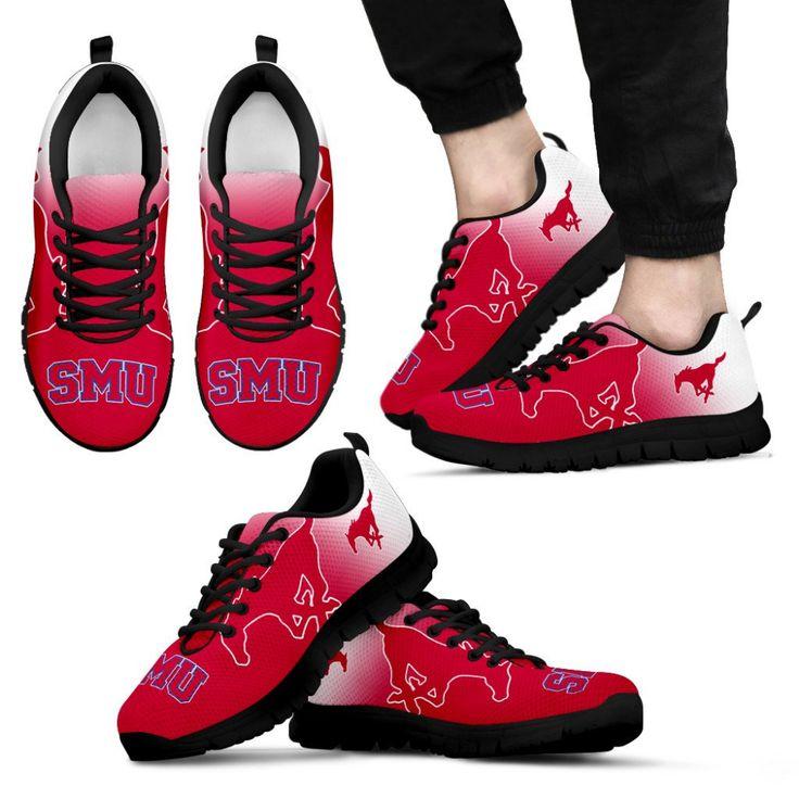 Spezielle inoffizielle SMU Mustangs Sneakers