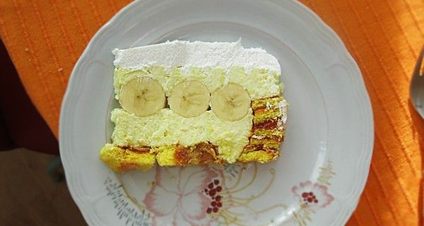 Rolat torta s bananama /