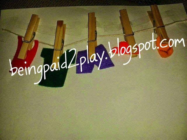 Being Paid 2 Play: Washline Clothing Theme