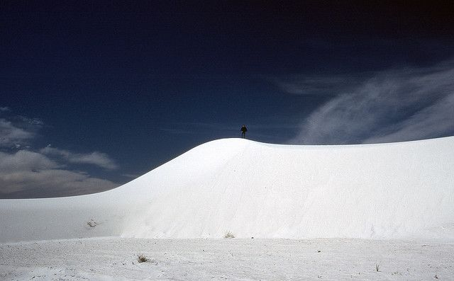 White Sands National Monument - New Mexico- USA