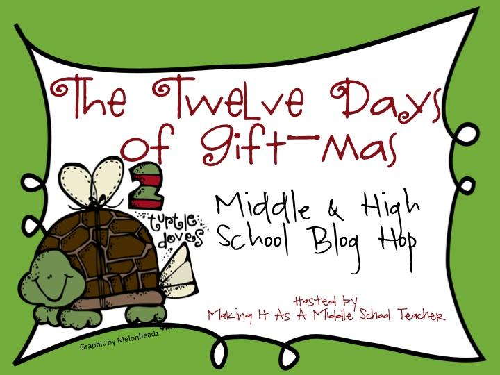 Christmas Gifts For High School Teachers Part - 23: Addie Education - Teacher Talk: Twelve Days Of Gift-mas Holiday Linky