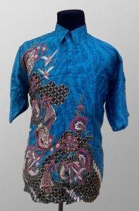 Batik Pria Modern Sunwash Semi Sutra Kode BS 33 SMS ke 082134923704