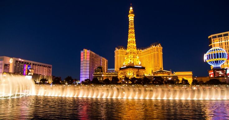 Blue Hour Photography in Vegas