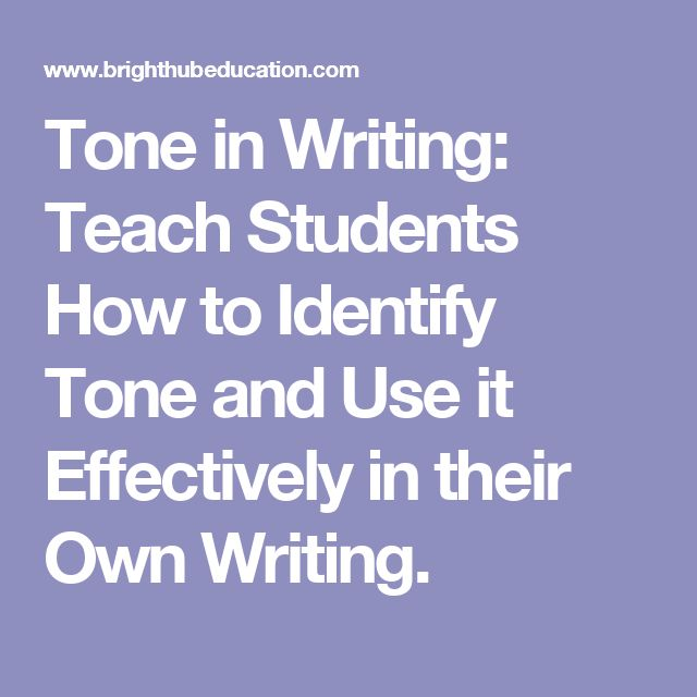 best tone in writing ideas essay writing skills  tone in writing teach students how to identify tone and use it effectively in their