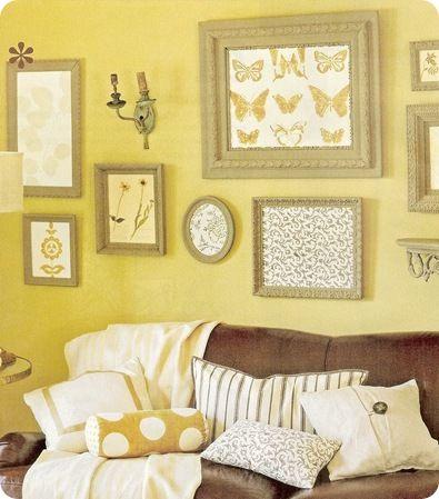 148 best Interior Design: Frame Groupings images on Pinterest | Home ...