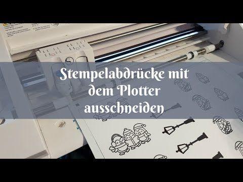 Stempelabdrücke mit dem Plotter ausschneiden (mit Video) | Blog ohne Namen