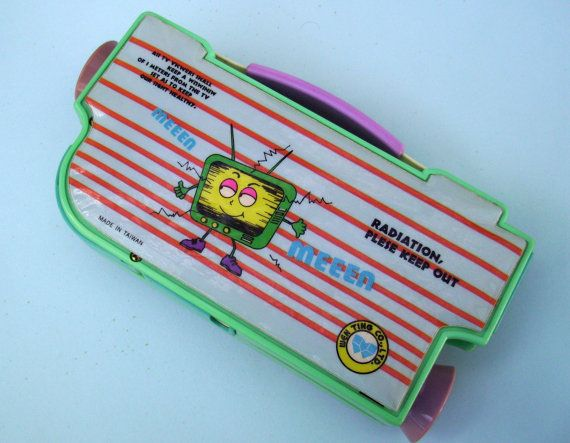 Video Camera Pencil Box. 80s Kitsch Pencil Case. by JirjiMirji, €35.70
