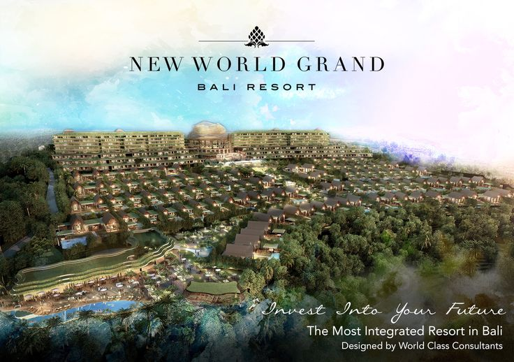 New World Grand Bali Resort #ToppingOff #pecatu #bali #invest #investasi #investment #condotel #ROI #Villatel #resort #5star #newworld