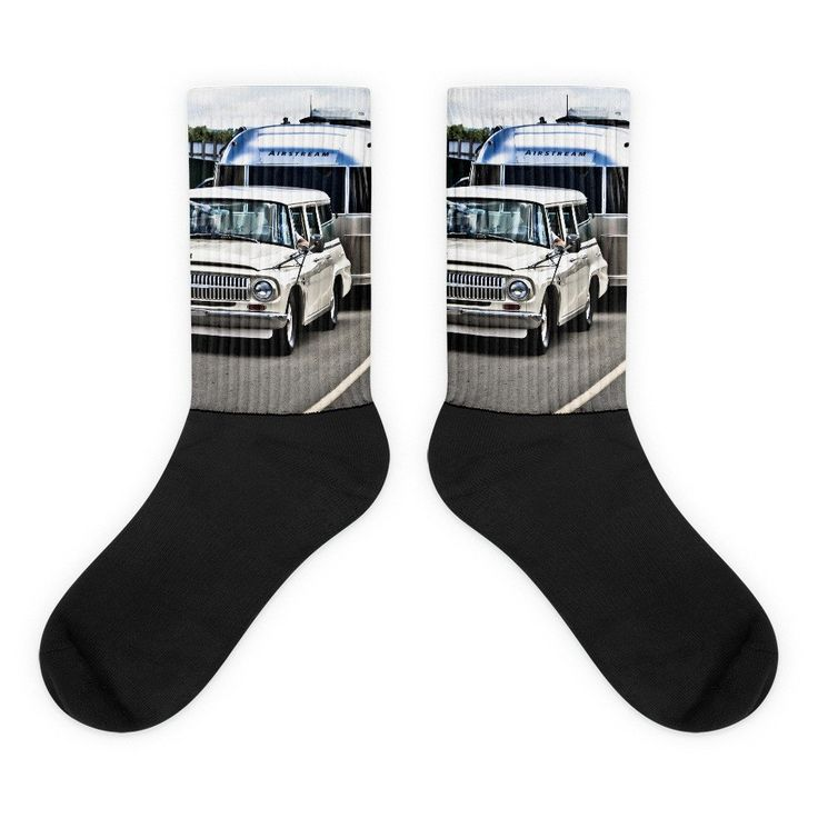 Air Stream Black foot socks -  #mymotoart