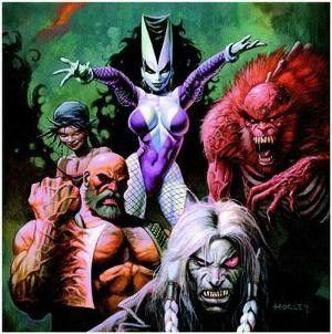 Blackout & the Demon Team / Blackout y el Equipo Demoníaco