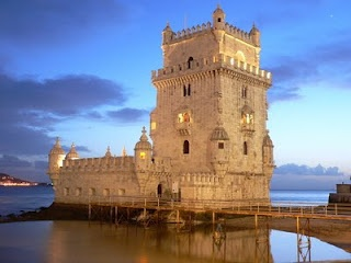 Belém Tower (Torre de Belém) or the Tower of St Vincent is a fortified tower located in the civil parish of Santa Maria de Belém in the municipality of Lisbon, Portugal. It is an UNESCO World Heritage Site  because of the significant role it played in the Portuguese maritime discoveries of the era of the Age of Discoveries.(more: http://en.wikipedia.org/wiki/Bel%C3%A9m_Tower)