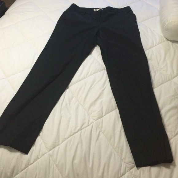 New Kenneth Cole black Khaki handbags Brand new black pants size 10 inseam is a 28 inches Kenneth Cole Pants