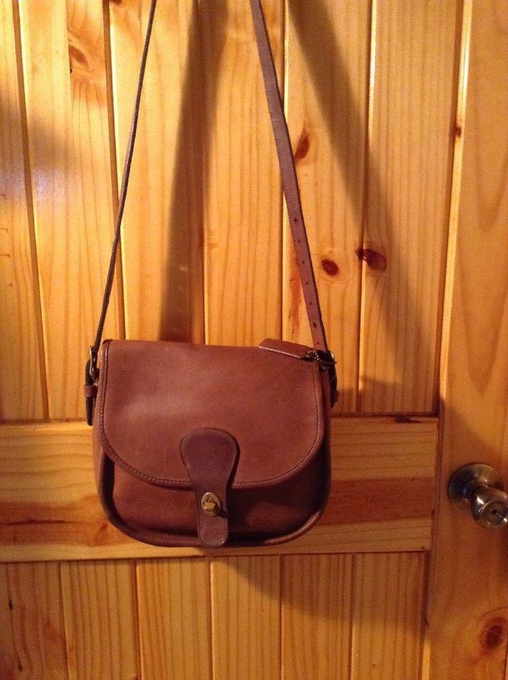 Vintage Coach Glove Tanned Full Grain Cowhide Leather Crossbody Bag USA 003-0610 #Coach #CrossbodyBagHandbag