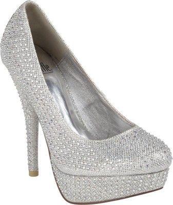 Truffle Collection Women Heels - Buy Silver Color Truffle Collection Women Heels Online at Best Price - Shop Online for Footwears in India   Flipkart.com