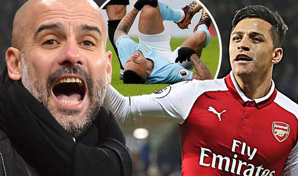 Pep Guardiola to hold Alexis Sanchez transfer talks after Man City suffer injuries    via Arsenal FC - Latest news gossip and videos http://ift.tt/2CvG011  Arsenal FC - Latest news gossip and videos IFTTT