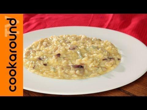 Risotto con gorgonzola e cipolla