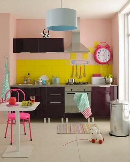 Inspire-se: cozinhas cor de rosa
