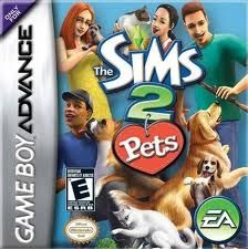 Sims 2 Pets - Game Boy Advance Game