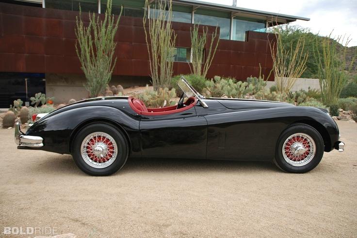 1955 Jaguar Roadster, www.luxuryaddicted.com