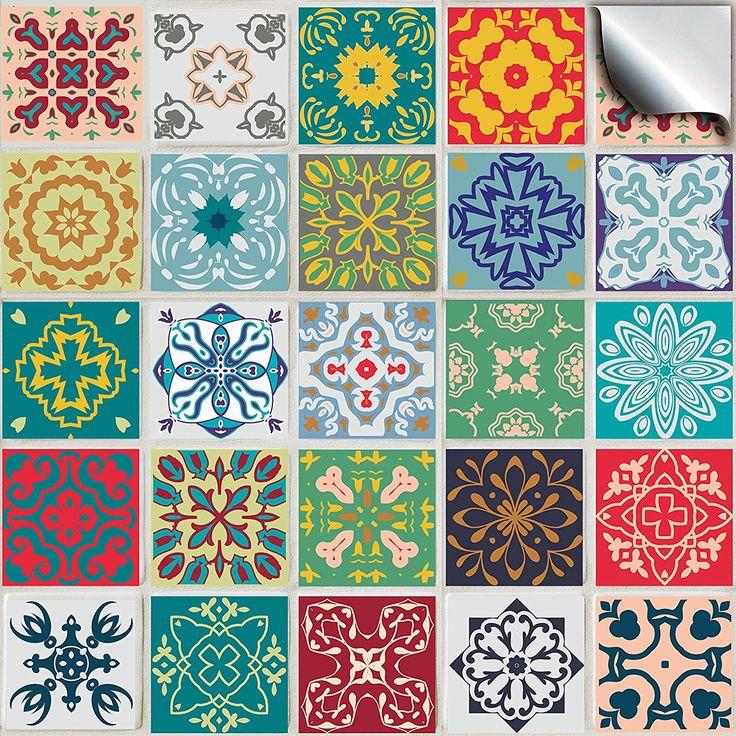 78 idee su piastrelle da parete su pinterest piastrelle - Piastrelle geometriche cucina ...