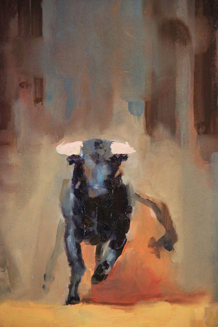 "Saatchi Art Artist: Fanny Nushka Moreaux; Oil 2013 Painting ""Nîmes, 2013"""