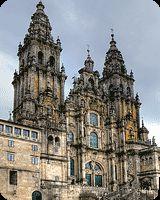 Santiago de Compostela jest znanym już od średniowiecza ośrodkiem kultu religijnego i jednym z trzech głównych, obok Jerozolimy i Rzymu, celów ówczesnego pątnictwa. Pielgrzymka do Santiago odbywana była jako dziękczynienie, pokuta, a w niektórych państwach nakazywana nawet wyrokiem sądowym.