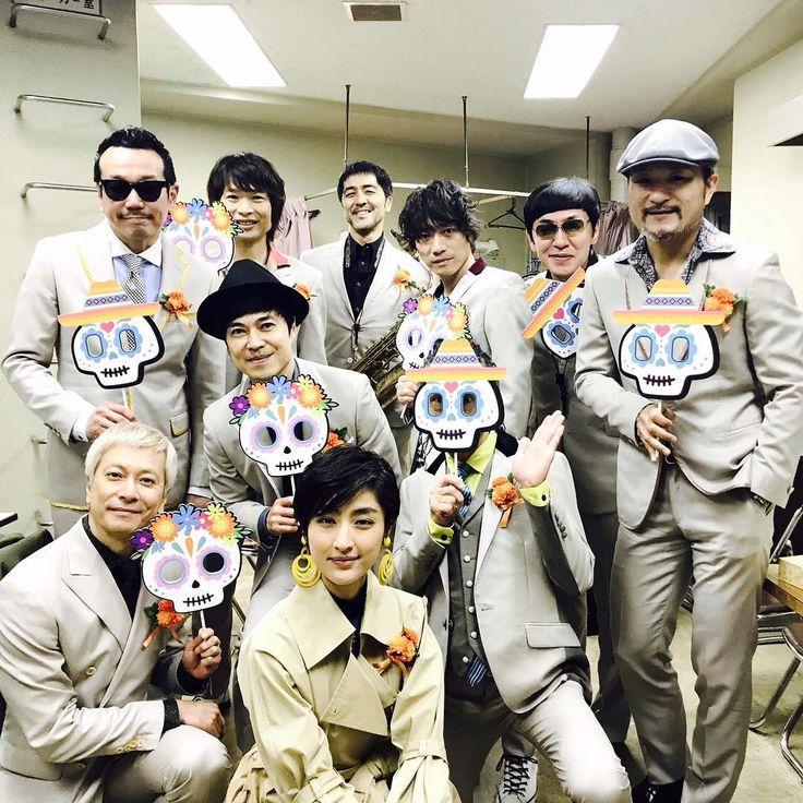 ジャパンプレミア 無事に終えて参りました  初めて皆さんとステージへ 安心感が凄い。 何よりとても楽しかった!  御一緒出来たことに感謝です。  #リメンバーミー  #東京スカパラダイスオーケストラ  #シシドカフカ