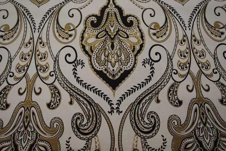 Persian Paisley Storm 100% cotton - 137cm