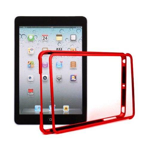 MiniMetal (Punainen) iPad Mini Alumiininen Bumper Suojakehys