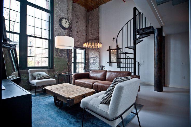 Loft in Atlanta by Heirloom Design Build