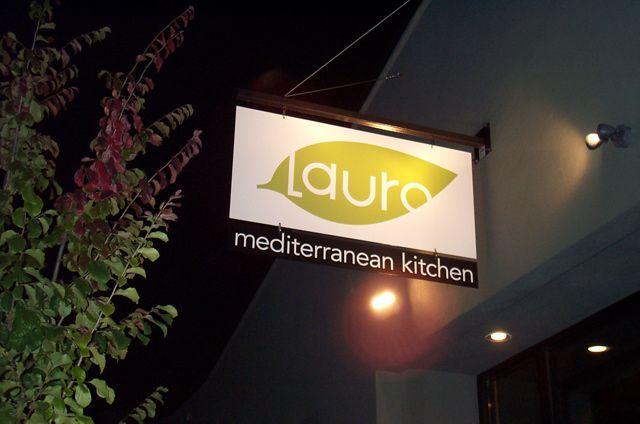 Lauro Restaurant Logo, Portland Oregon
