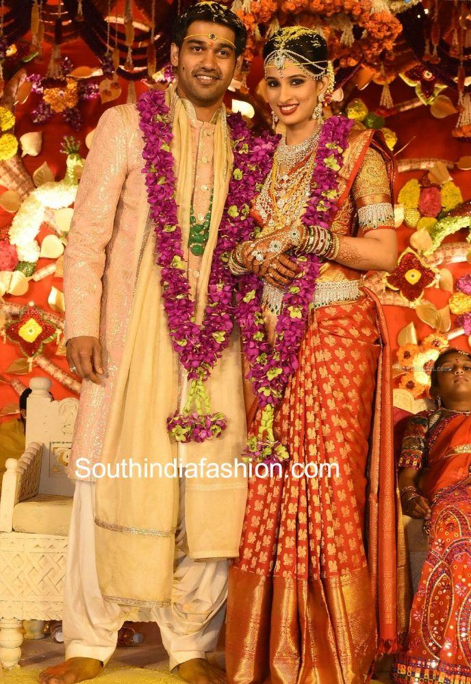 Hyderabad industrialist Prasad Nimmagadda's daughter Swathi Nimmagadda got married to Pranav. Prasad Nimmagadda's Daughter Swathi's Wedding