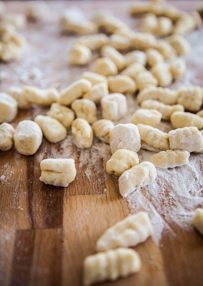 making gnocchi with Emma Fredd