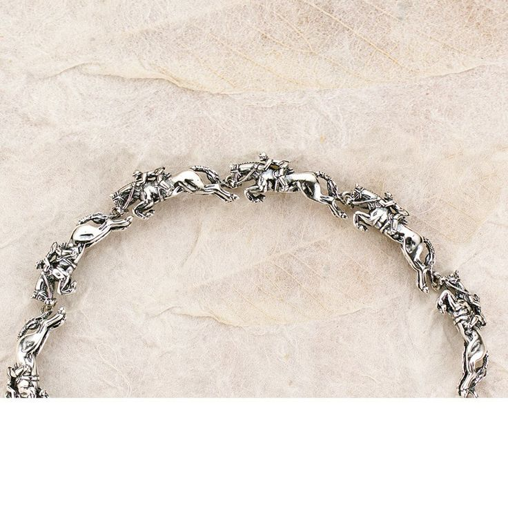 Jumper Bracelet, Sterling Silver