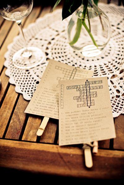 Svatební křížovka/ wedding crossroads