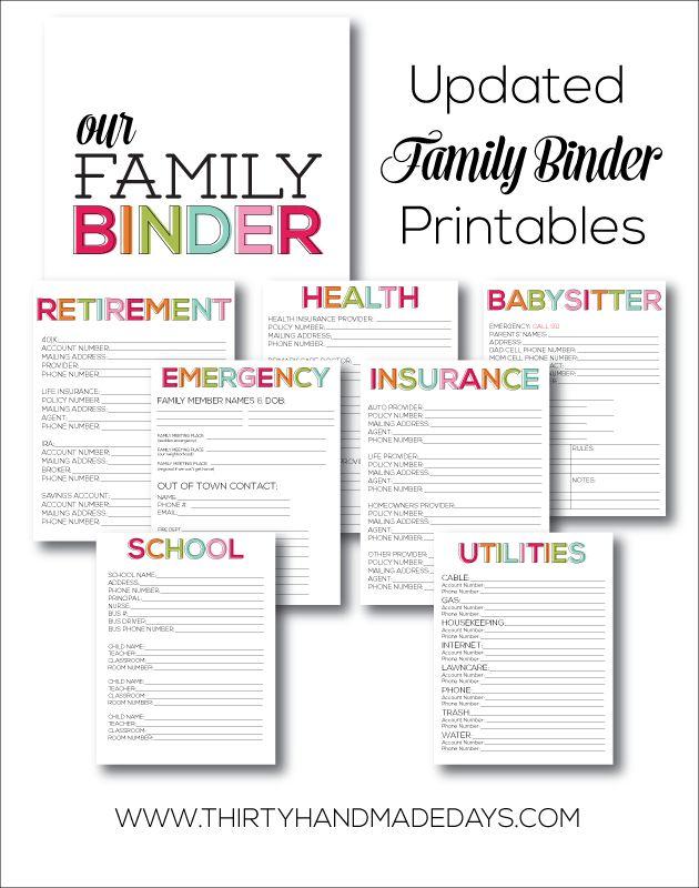 #wwwthirtyhandmadedayscom #information #printables #printables #important