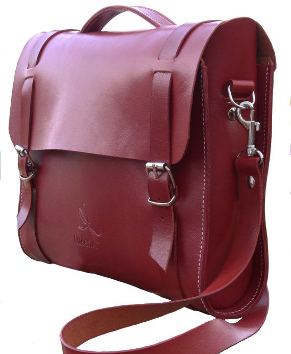 This is your genuine leather bag, that is elegant and practise.The bag features hand Detachable shoulder strap, and ample room for your work or travel inside. This leather bag is great because when you buy in Ludena products , you are buying super quality and great customer service. Ludena use unbeatable top quality leather. The leather will gain character with more wear and use. All Ludena products will last you a very long time. Uses for this bag: iPad Bag Daily bag Small Briefcase for…