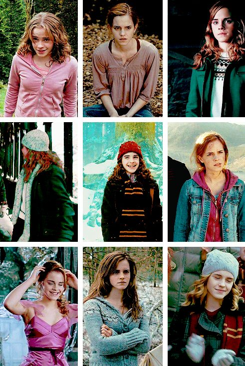 hermione granger + favourite outfits