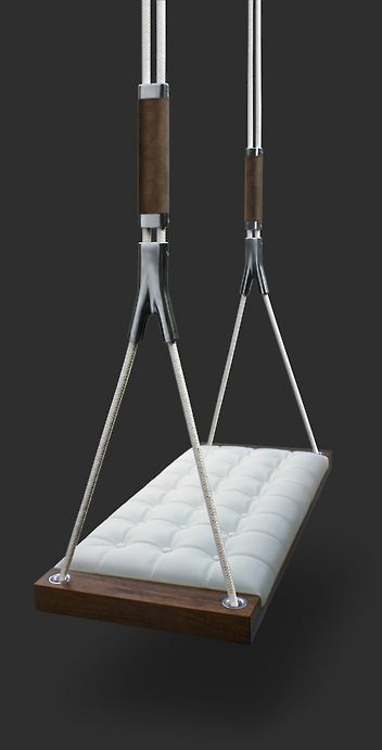 apartment swing (via Decor8) - no idea where I would put this, but it is awesome