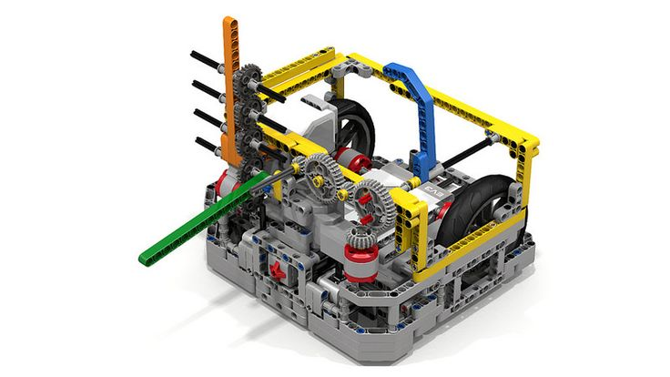 "Lego ""Fllying Tortoise"" EV3 Robot Shell 