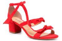 Sandália Laço Vermelha