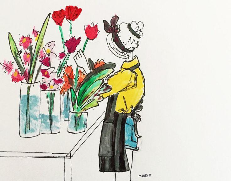 Floral Friday by Marta Scupelli • www.stripe-me.com