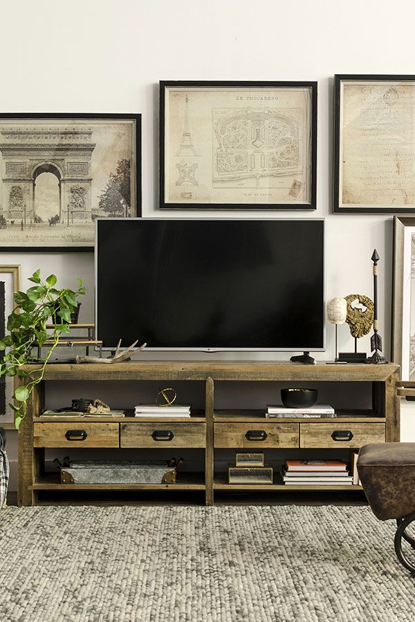 Best 25 Tv Console Decorating Ideas On Pinterest
