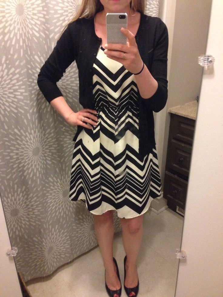 Stitch Fix Papermoon Mada Chevron Sleeveless Dress       Great dress, would be work appropriate if long enough!