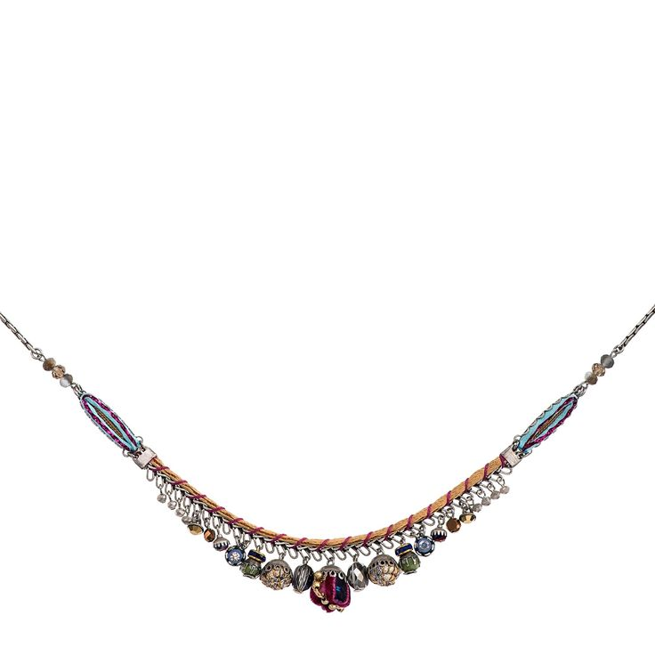Golden Dawn Touch Necklace Aayla Bar Hip Collection Summer 2016