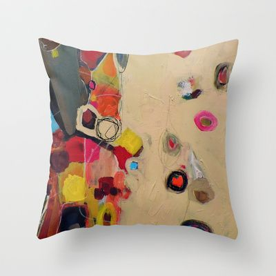 la famille Throw Pillow by sylvie demers