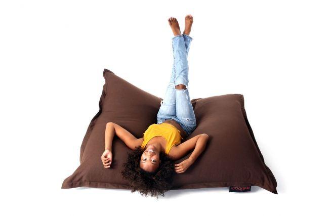 pouf g ant design lin chocolat big milibag ce produit n. Black Bedroom Furniture Sets. Home Design Ideas