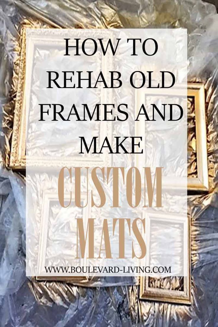frame rehab and custom mats